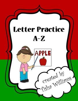 Letter Practice A-Z
