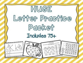 Alphabet Practice Packet