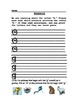 Letter Printing Practice and Sound Recognition Homework, L