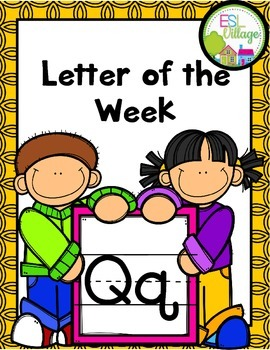 "Letter of the Week (Letter ""Q"")"