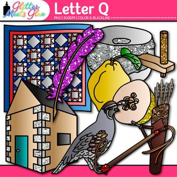 Letter Q Alphabet Clip Art - Letter Recognition, Identific