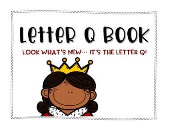 Letter Q Book