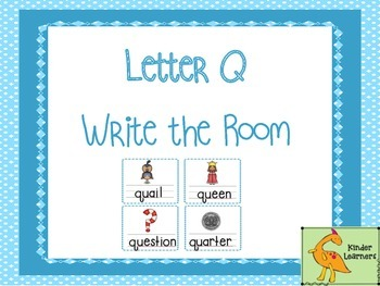 Write the Room Letter Q