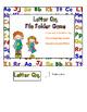 Letter Qq File Folder Game