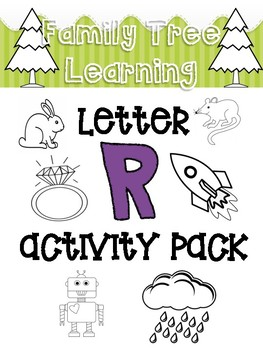 Letter R Activity Pack!
