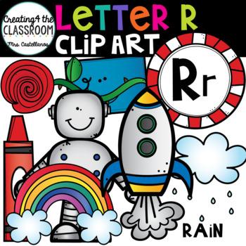 Letter R Clipart {Alphabet Clip art}
