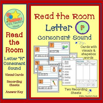 Letter R Consonant Sound Read the Room