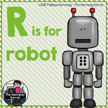 Letter R is for Robot
