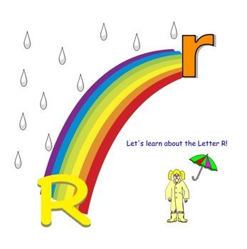 Letter R recognition