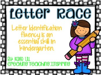**Freebie** Letter Races