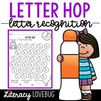 Letter Recognition: Activity 1 Letter Hop
