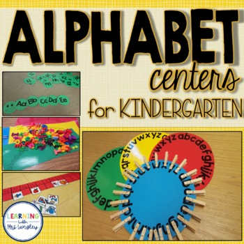 Letter Recognition Alphabet Centers