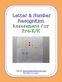 Letter & Number Recognition Assessment