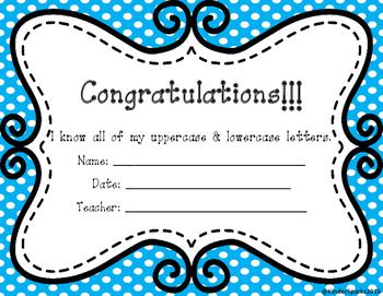 Letter Recognition Award