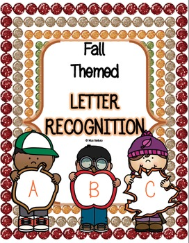 Letter Recognition - Fall Themed