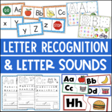 Letter Recognition and Letter Sounds Centers
