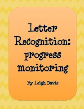 Letter Recognition: Progress Monitoring