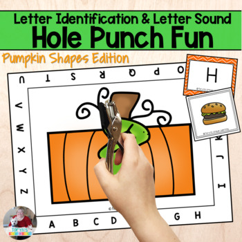 Letter Recognition Pumpkin Punch