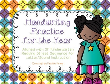 Letter Recognition and Handwriting Practice (Reading Street)
