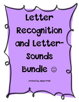 Letter Recognition and Letter Sounds Bundle
