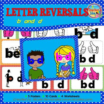 Reversals ('b' and 'd' Printables)