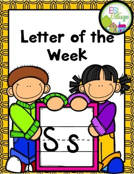 "FREE Letter of the Week (Letter ""S"")"
