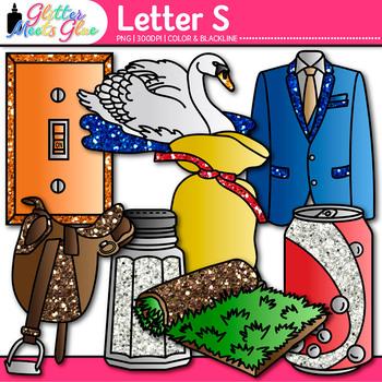 Letter S Alphabet Clip Art - Letter Recognition, Identific