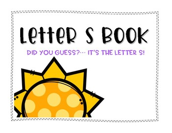 Letter S Book