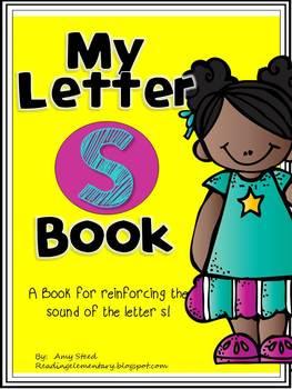 Letter S Book of Beginning Sounds-Emergent Reader w/Runnin