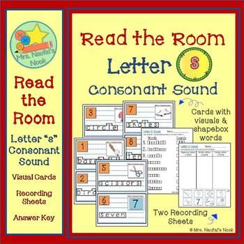 Letter S Consonant Sound Read the Room