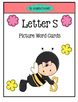 Letter S ~ Picture Word Cards