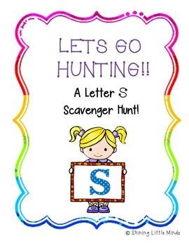 Letter S Scavenger Hunt