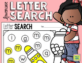 Letter Search - Lowercase Letters