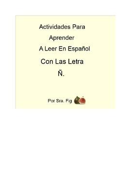 Spanish Letter Ñ Interactive Smart Board Activities