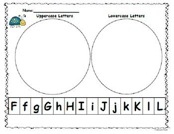 Kindergarten Wonders Start Smart:Letter Sort Capitals/Lowe
