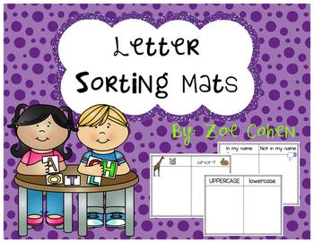 Letter Sorting Mats