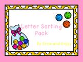 Letter Sorting Pack