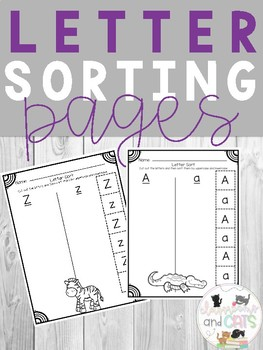 Letter Sorting Pages