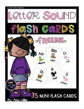 Letter Sound Flash Cards