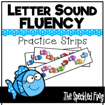 Letter Sound Fluency Fish