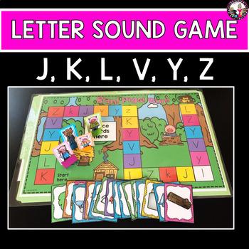 Letter-Sound Game Identification-Targeted Consonants- Set 3