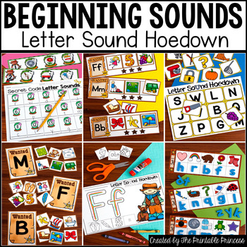 Beginning Sounds Centers & Activities