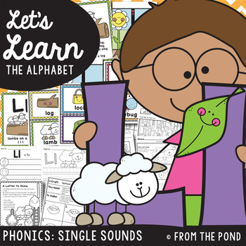 Alphabet / Phonics Resource Packet {Letter Sound Ll}