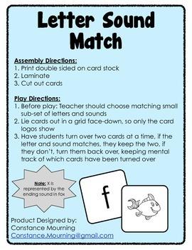 Letter Sound Match