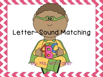 Letter-Sound Match Center/Folder Game