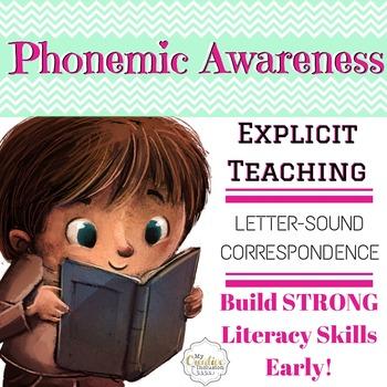 Letter-Sound, Phonemic Awareness, Explicit Teaching