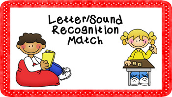 Letter/Sound Recognition Center Activities