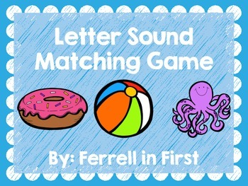 Letter Sounds Game