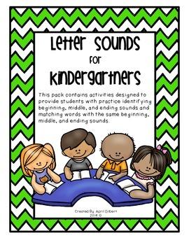 Letter Sounds for Kindergartners!