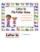 Letter Ss File Folder Game
